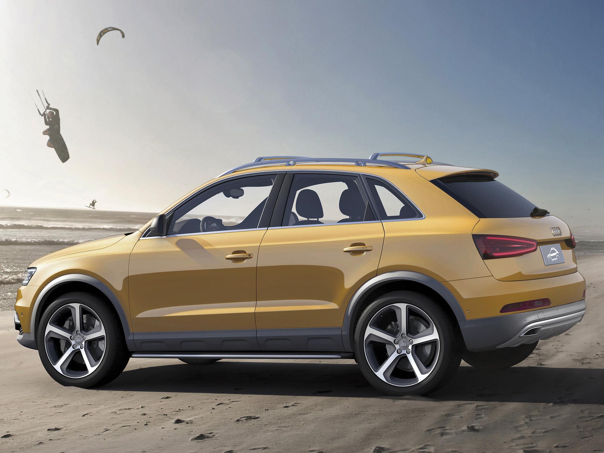 Audi Q3 I Restyling 2014 - now SUV 5 door #2
