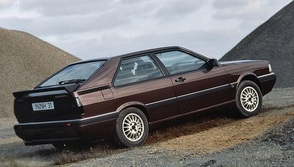 Audi Quattro I 1980 - 1985 Coupe #3