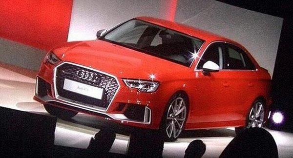 Audi RS 3 II Restyling 2016 - now Sedan #8