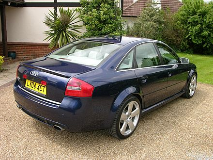 Audi RS 6 I (C5) 2002 - 2004 Sedan #5