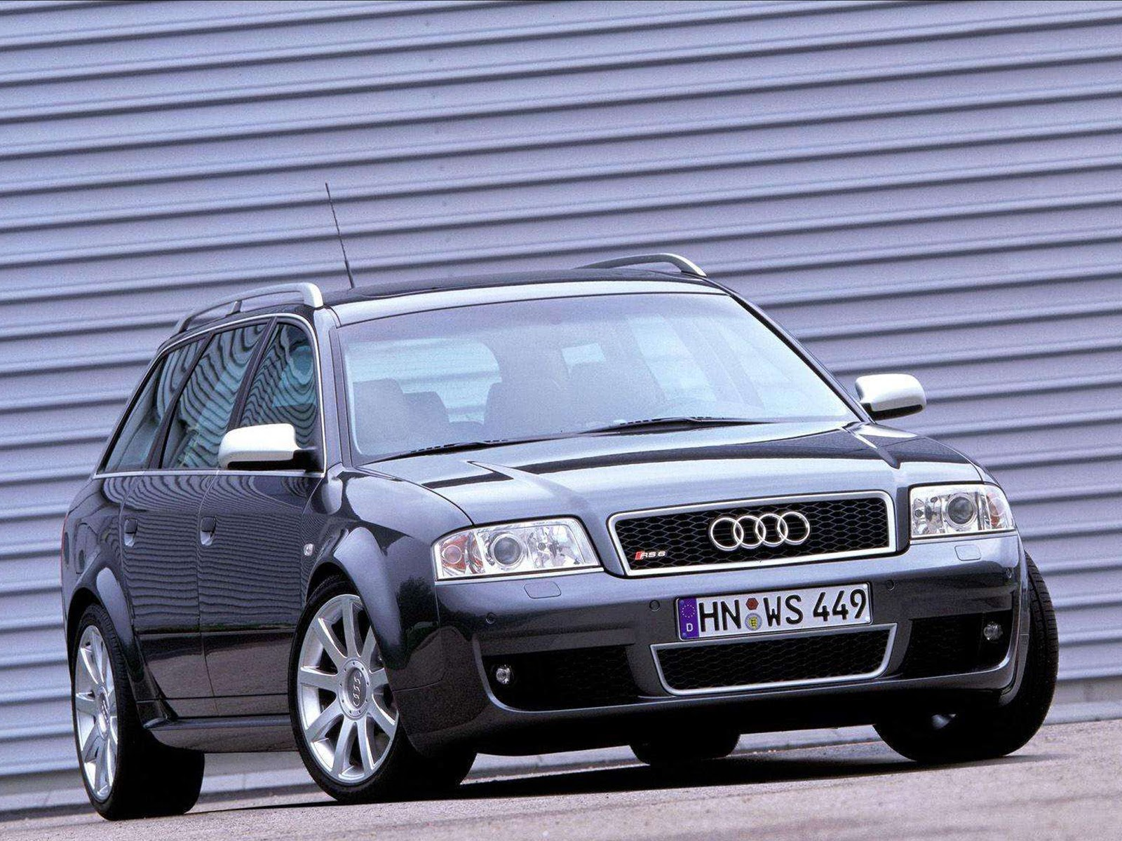 Audi RS 6 I (C5) 2002 - 2004 Sedan #2