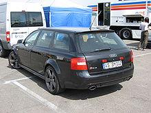 Audi RS 6 I (C5) 2002 - 2004 Station wagon 5 door #6