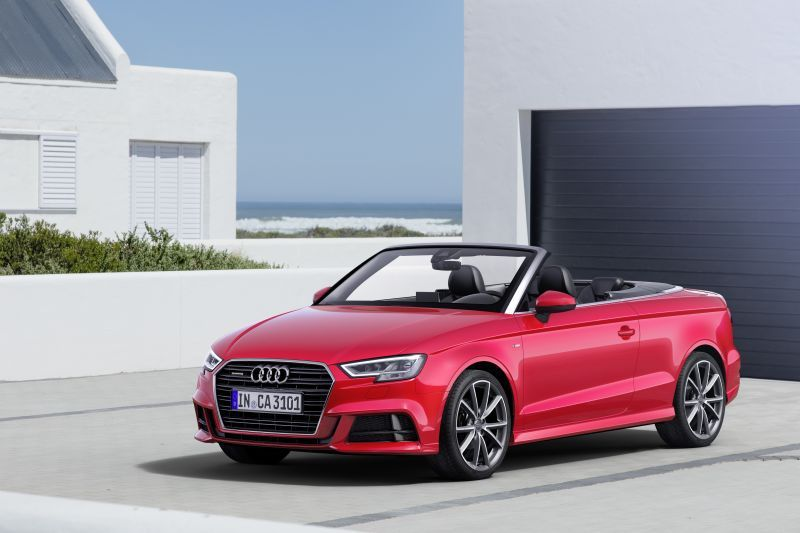 Audi S3 III (8V) Restyling 2016 - now Cabriolet #6