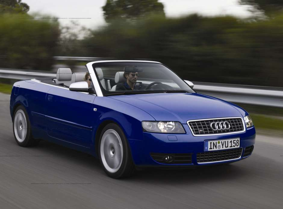 Audi S4 II (B6) 2003 - 2004 Cabriolet #1