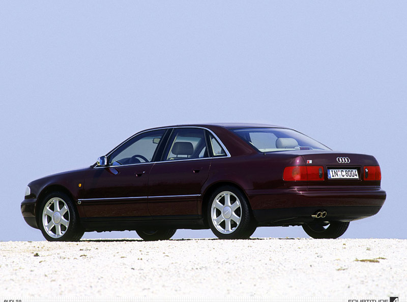 Audi S8 I (D2) 1996 - 1999 Sedan #4
