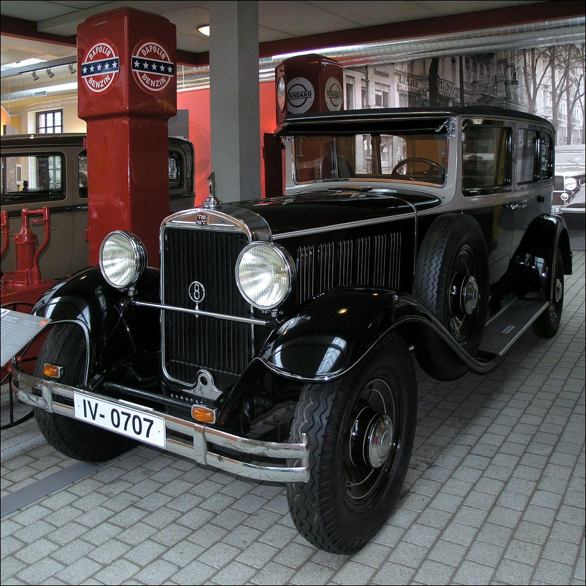 Audi Typ R 1927 - 1929 Cabriolet #7