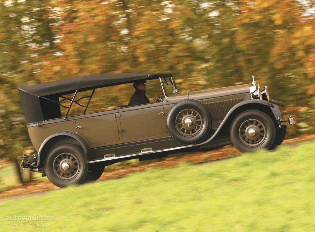 Audi Typ R 1927 - 1929 Cabriolet #2