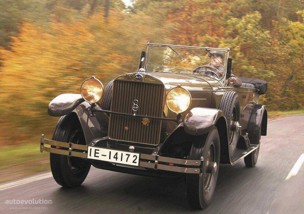 Audi Typ R 1927 - 1929 Cabriolet #3
