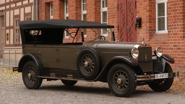 Audi Typ R 1927 - 1929 Cabriolet #8