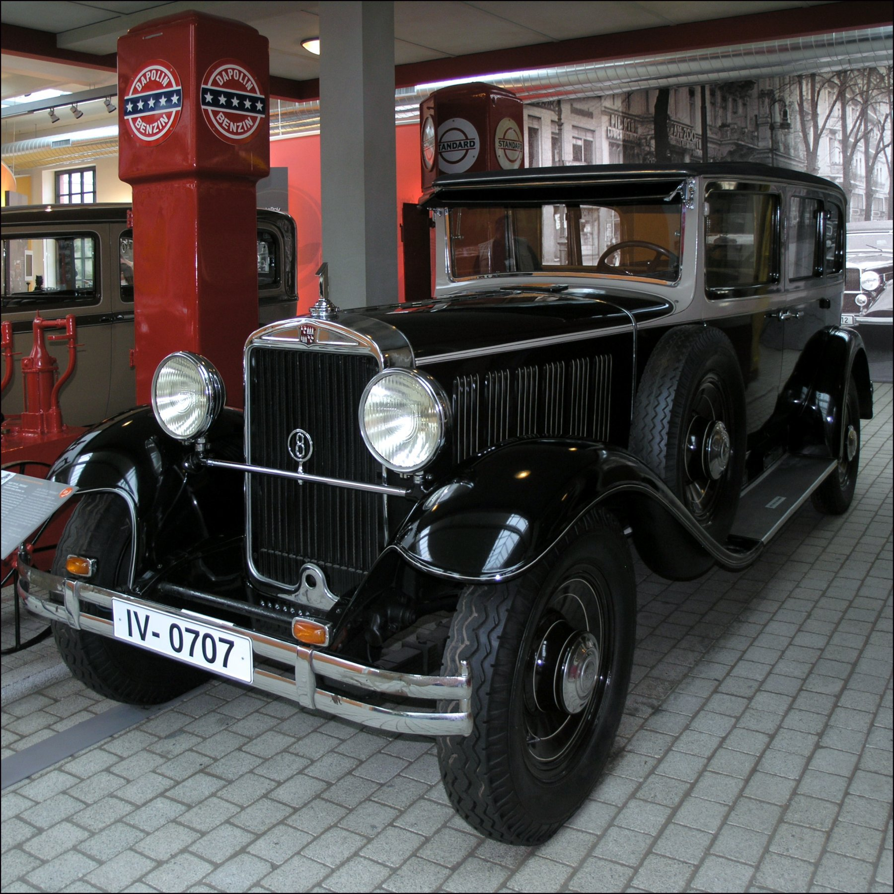 Audi Typ R 1927 - 1929 Cabriolet #4