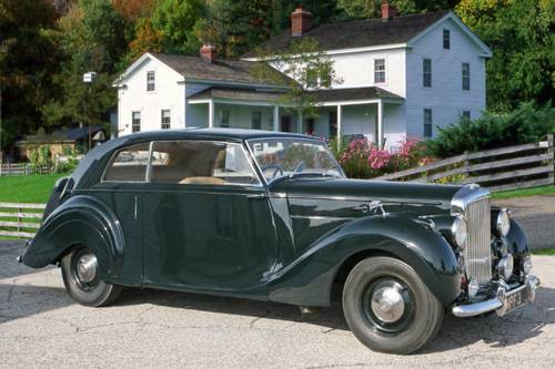 Bentley Mark VI 1946 - 1952 Coupe #7