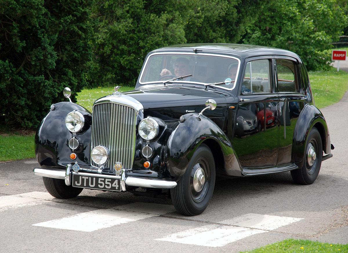 Bentley Mark VI 1946 - 1952 Coupe #8