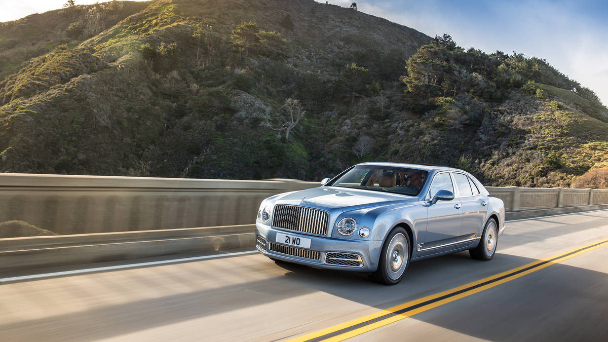 Bentley Mulsanne II Restyling 2016 - now Sedan #3