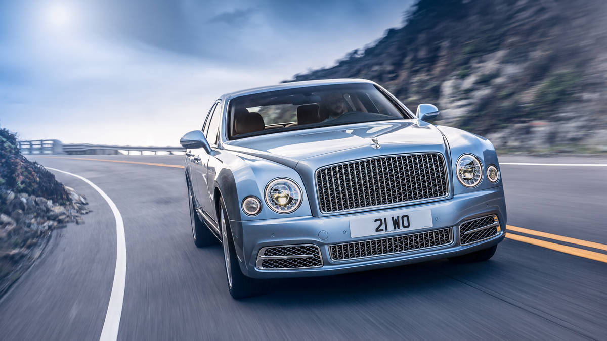 Bentley Mulsanne II Restyling 2016 - now Sedan #6
