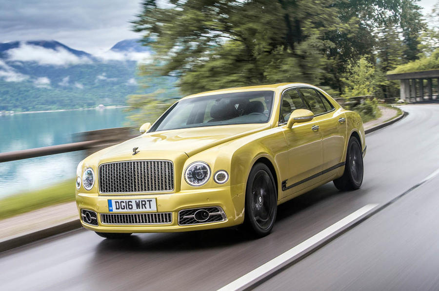 Bentley Mulsanne II Restyling 2016 - now Sedan #2