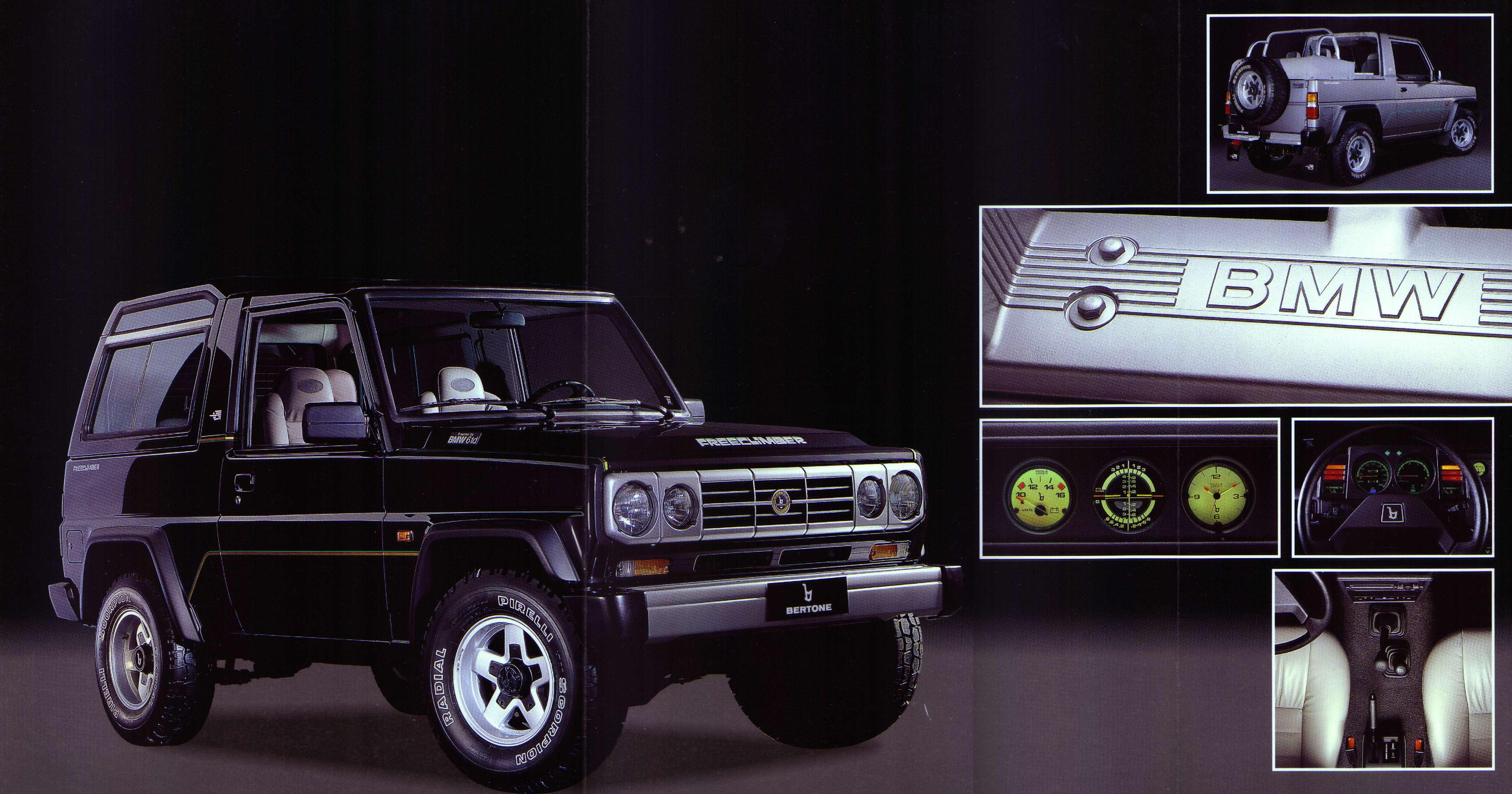 Bertone Freeclimber II 1992 - 1995 SUV 3 door #3