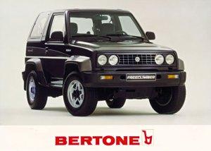 Bertone Freeclimber II 1992 - 1995 SUV 3 door #8