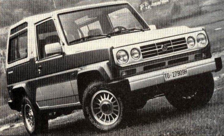Bertone Freeclimber II 1992 - 1995 SUV 3 door #4