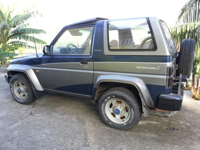 Bertone Freeclimber II 1992 - 1995 SUV 3 door #6