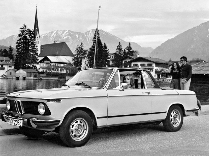BMW 02 (E10) I 1966 - 1977 Cabriolet #3