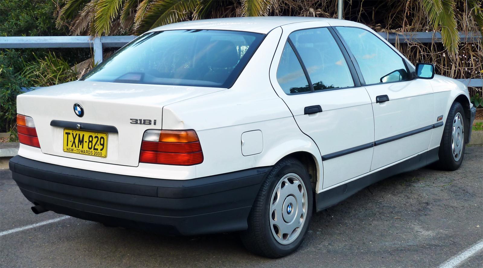 BMW 3 Series III (E36) 1991 - 2000 Hatchback 3 door #4