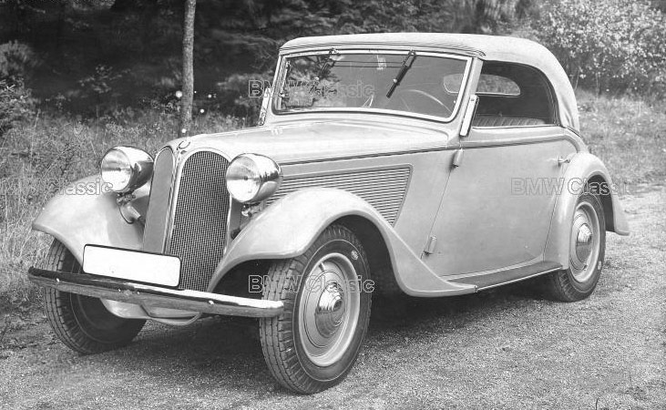 BMW 315 1934 - 1937 Sedan 2 door #7