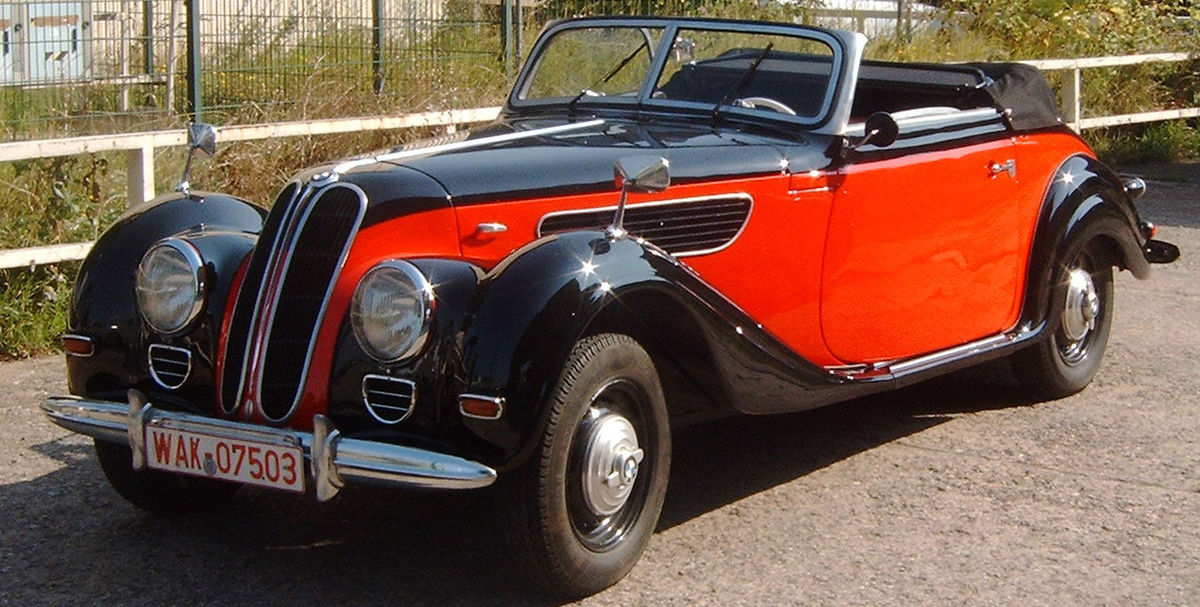 BMW 327 1937 - 1941 Cabriolet #8