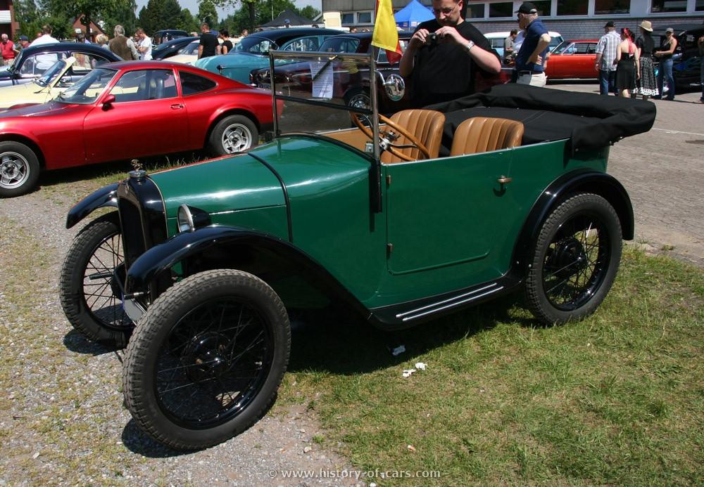 BMW 3ቫ DA-1 1927 - 1929 Cabriolet #4