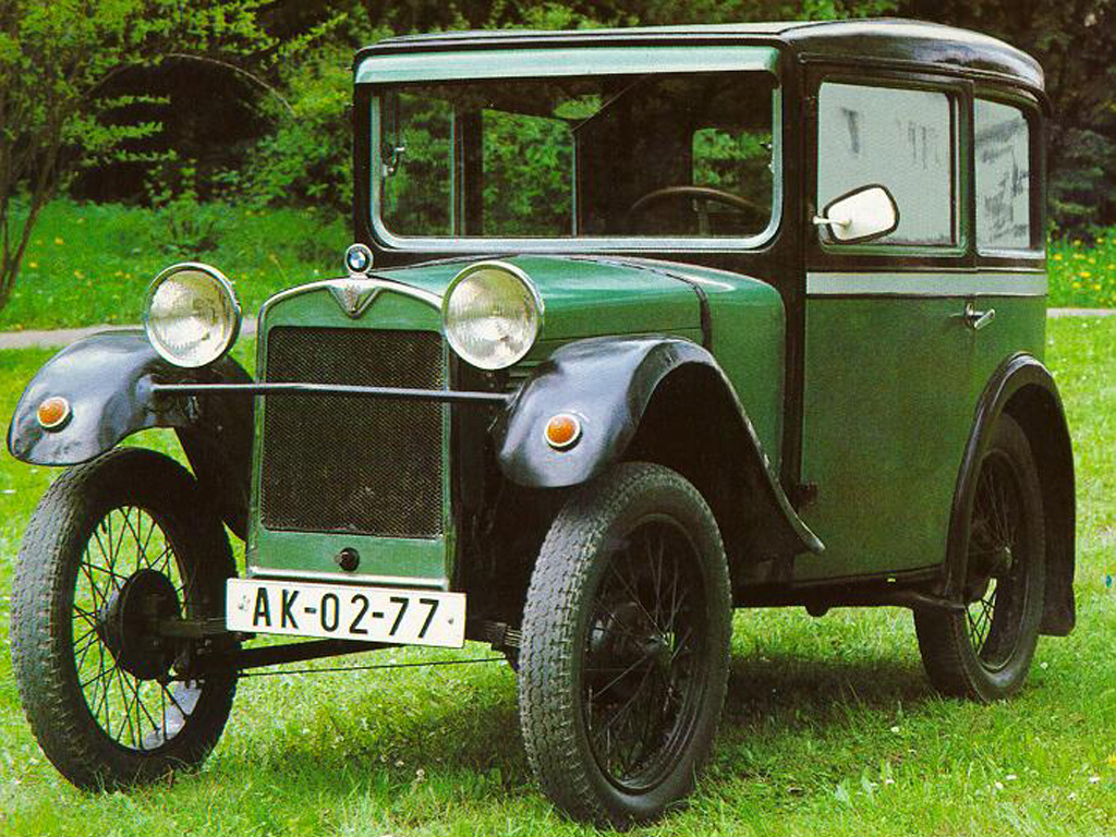 BMW 3ቫ DA-1 1927 - 1929 Cabriolet #1