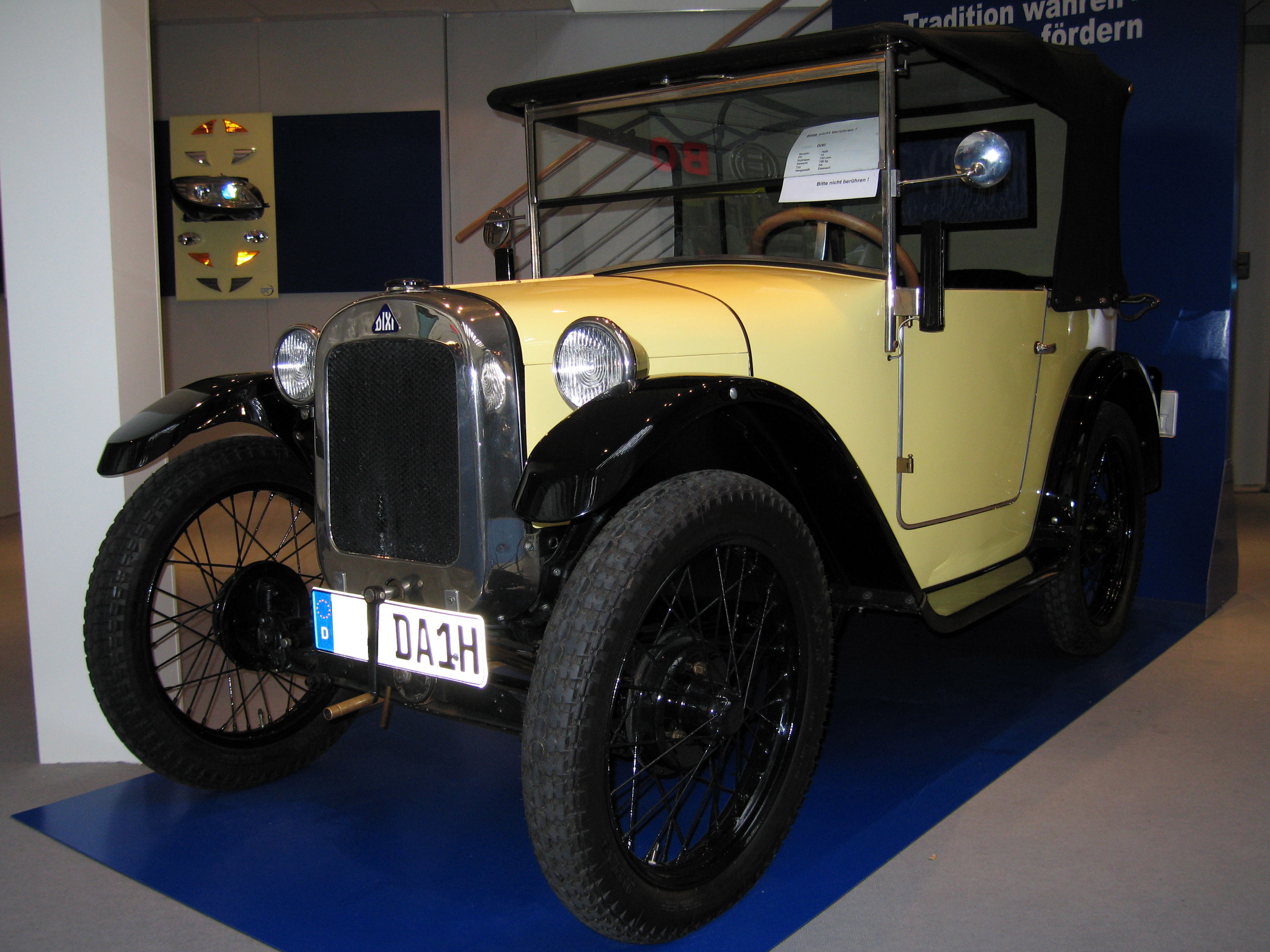 BMW 3ቫ DA-1 1927 - 1929 Cabriolet #3