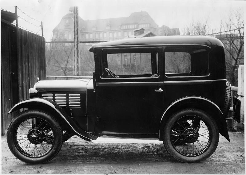BMW 3ቫ DA-4 1931 - 1932 Limousine #8