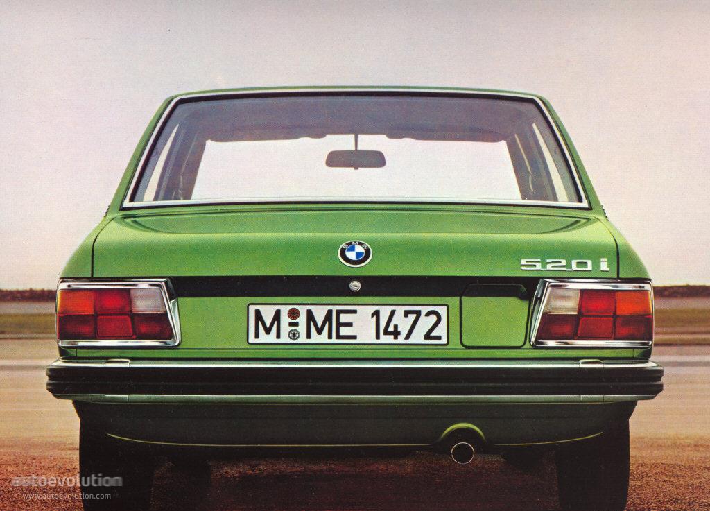 BMW 5 Series I (E12) 1972 - 1976 Sedan #3