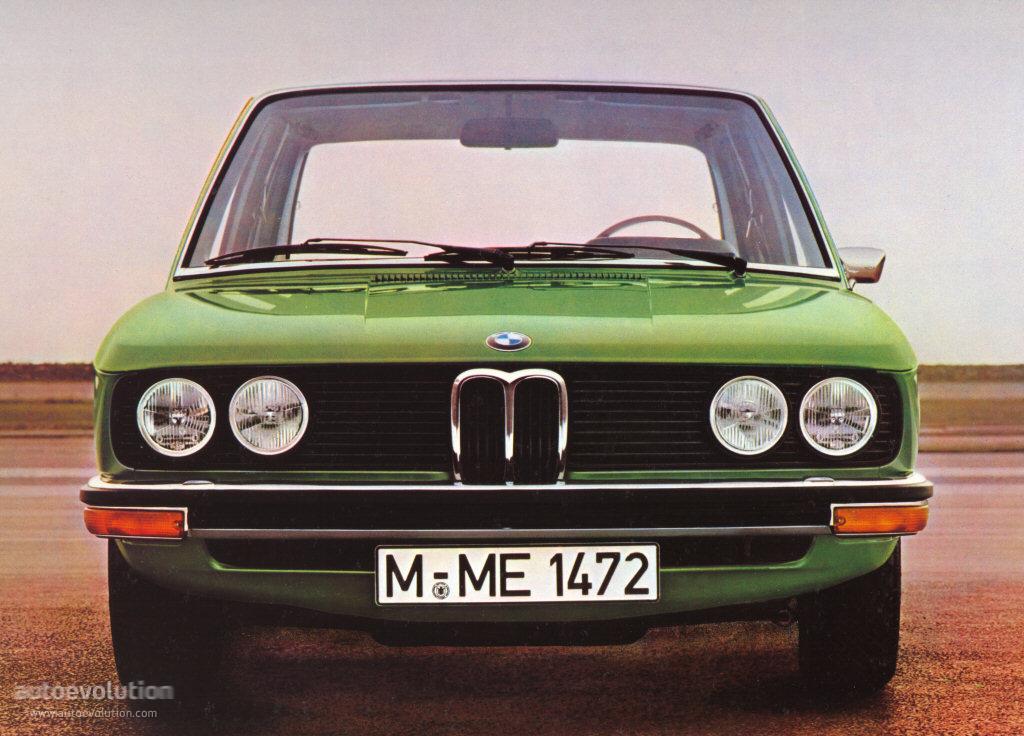 BMW 5 Series I (E12) 1972 - 1976 Sedan #1