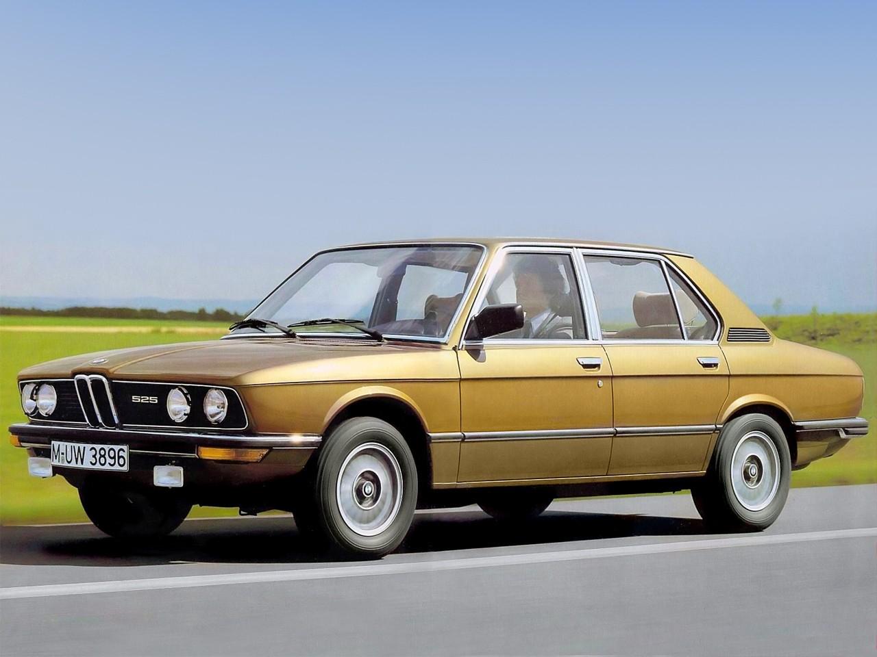 BMW 5 Series I (E12) 1972 - 1976 Sedan #7
