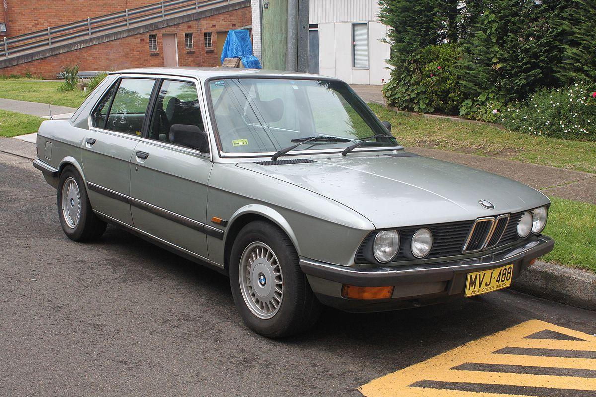 BMW M5 I (E28) 1985 - 1988 Sedan #7