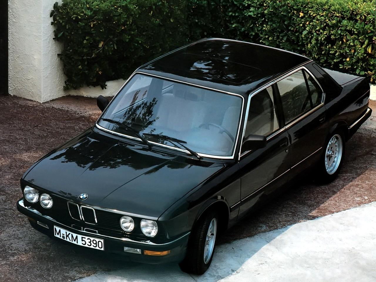 Bmw 5 Series Ii E28 1981 1988 Sedan Outstanding Cars 6