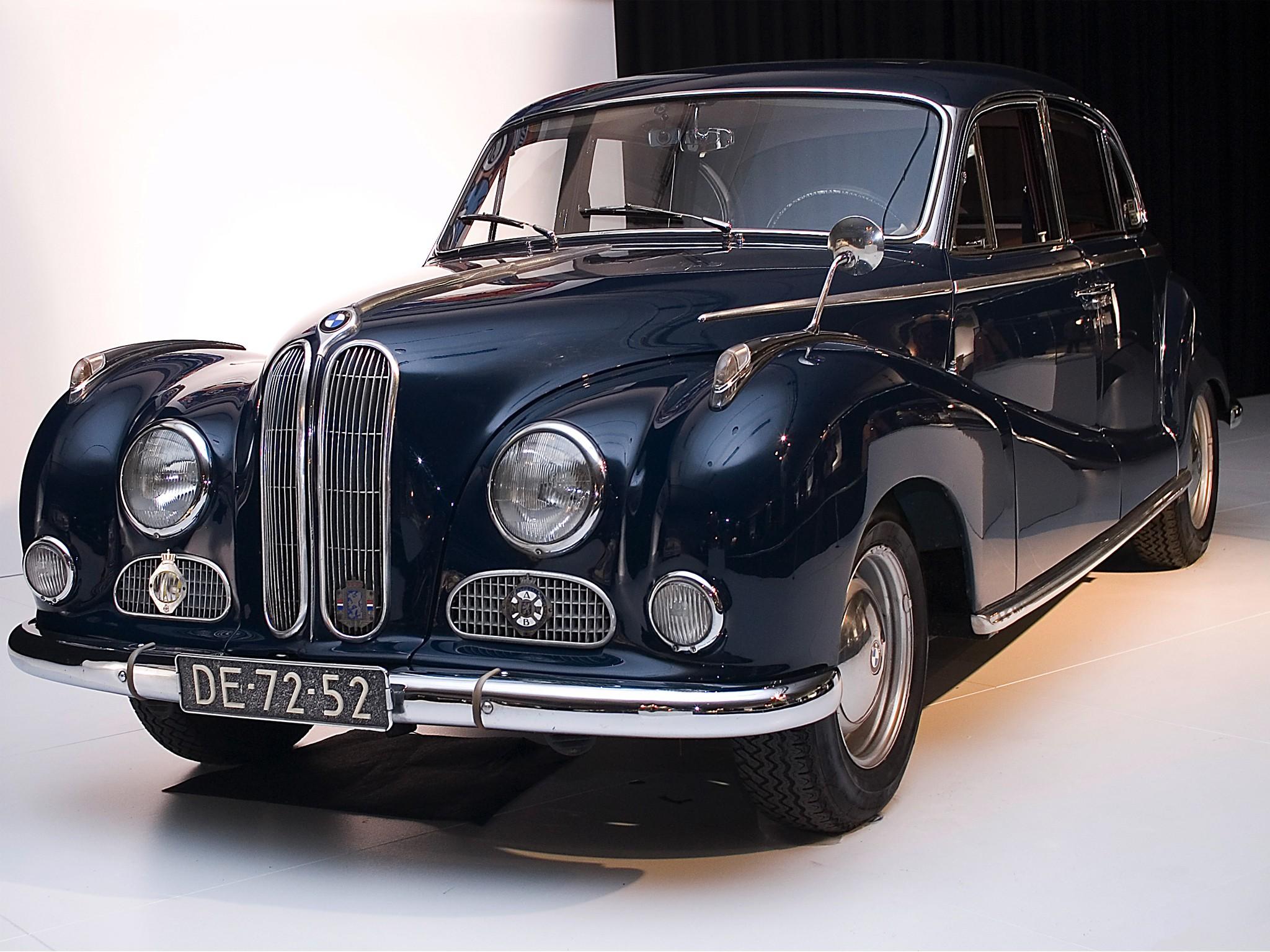 BMW 501 1952 - 1958 Sedan #3