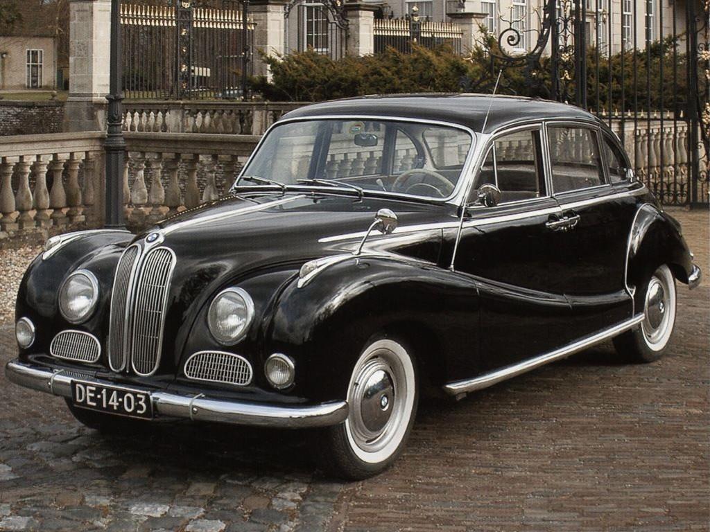 BMW 501 1952 - 1958 Sedan #7