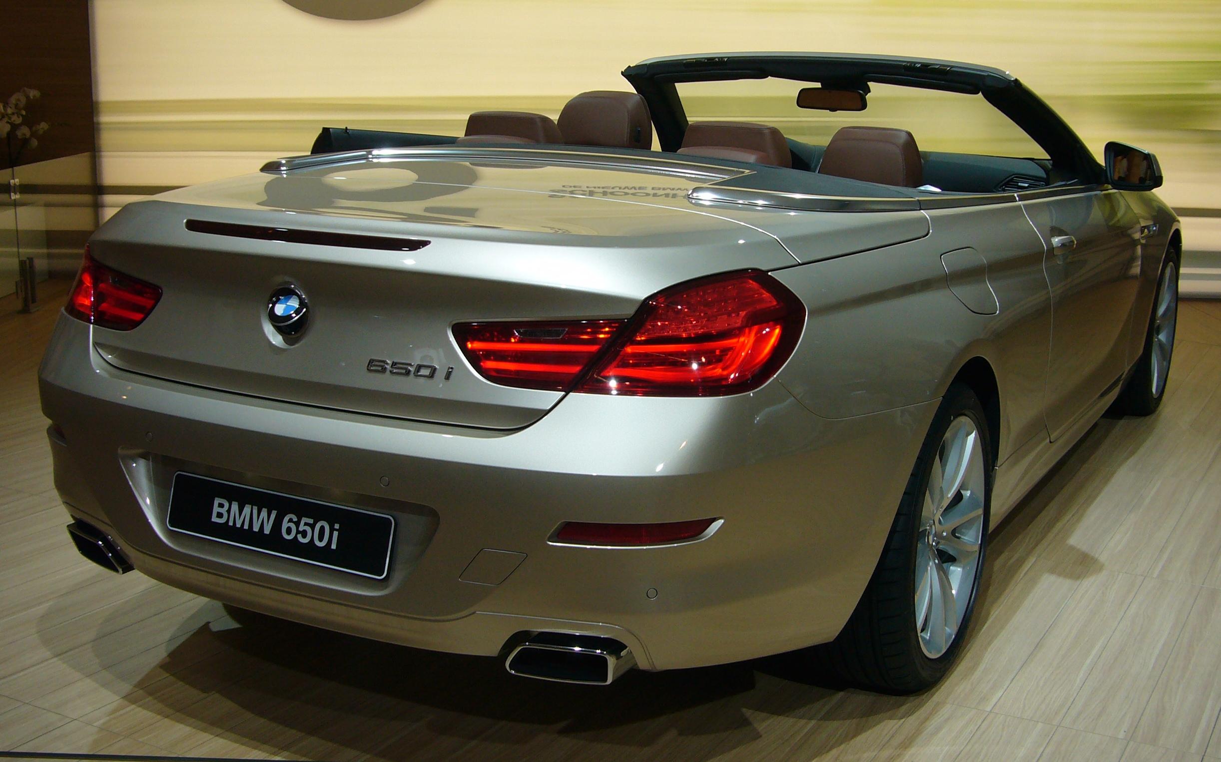 BMW 6 Series III (F06/F13/F12) 2011 - 2015 Cabriolet #2