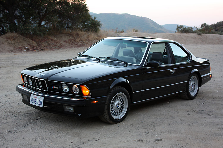 BMW M6 I (E24) 1983 - 1989 Coupe #7