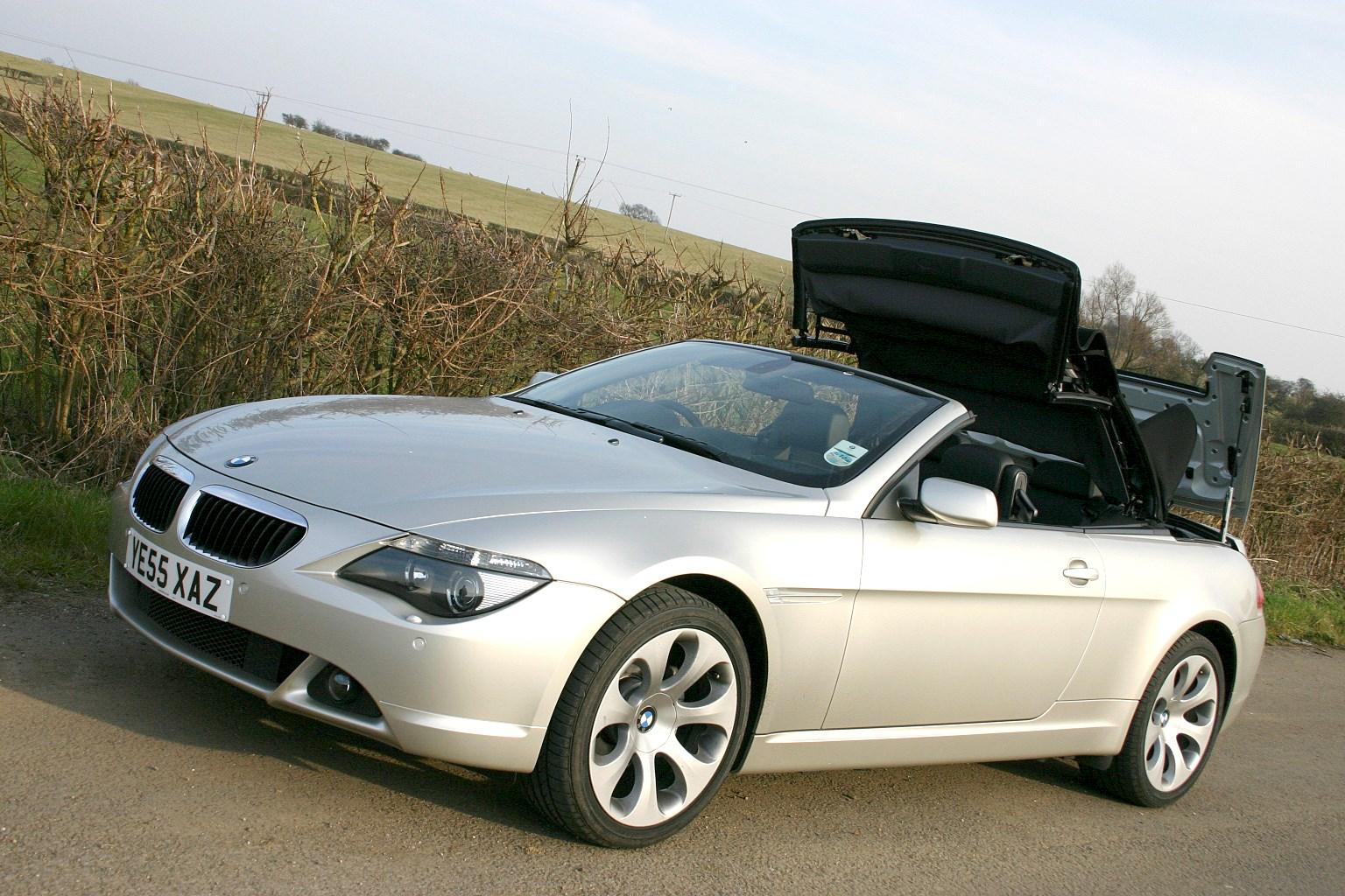 BMW 6 Series II (E63/E64) 2003 - 2007 Cabriolet #1