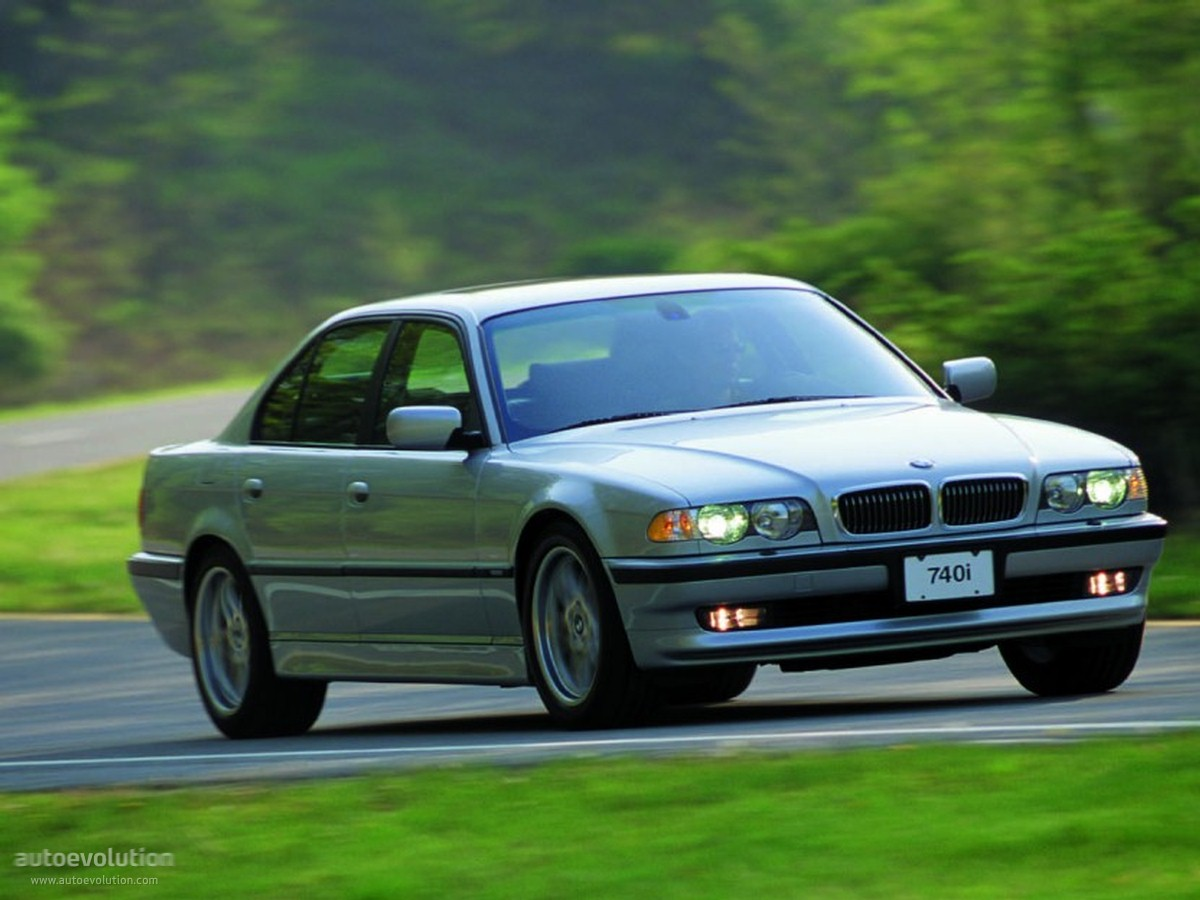 BMW 7 Series III E38 Restyling 1998