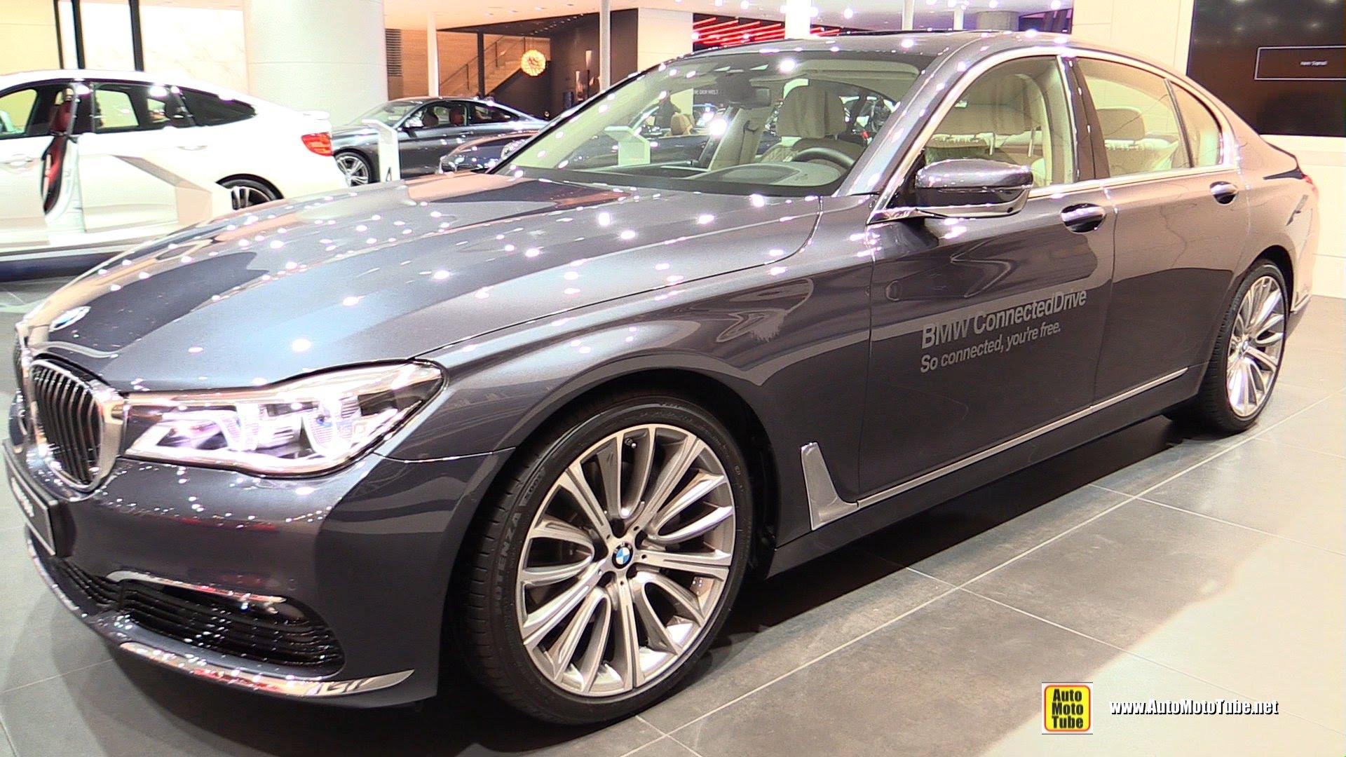 BMW 7 Series VI (G11/G12) 2015 - now Sedan #3