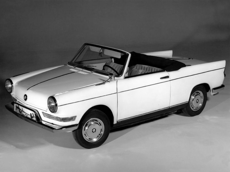 BMW 700 1959 - 1965 Coupe #8