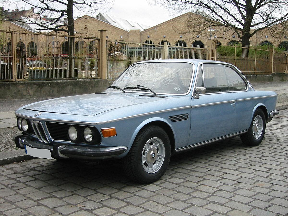 BMW E9 1968 - 1975 Coupe #5