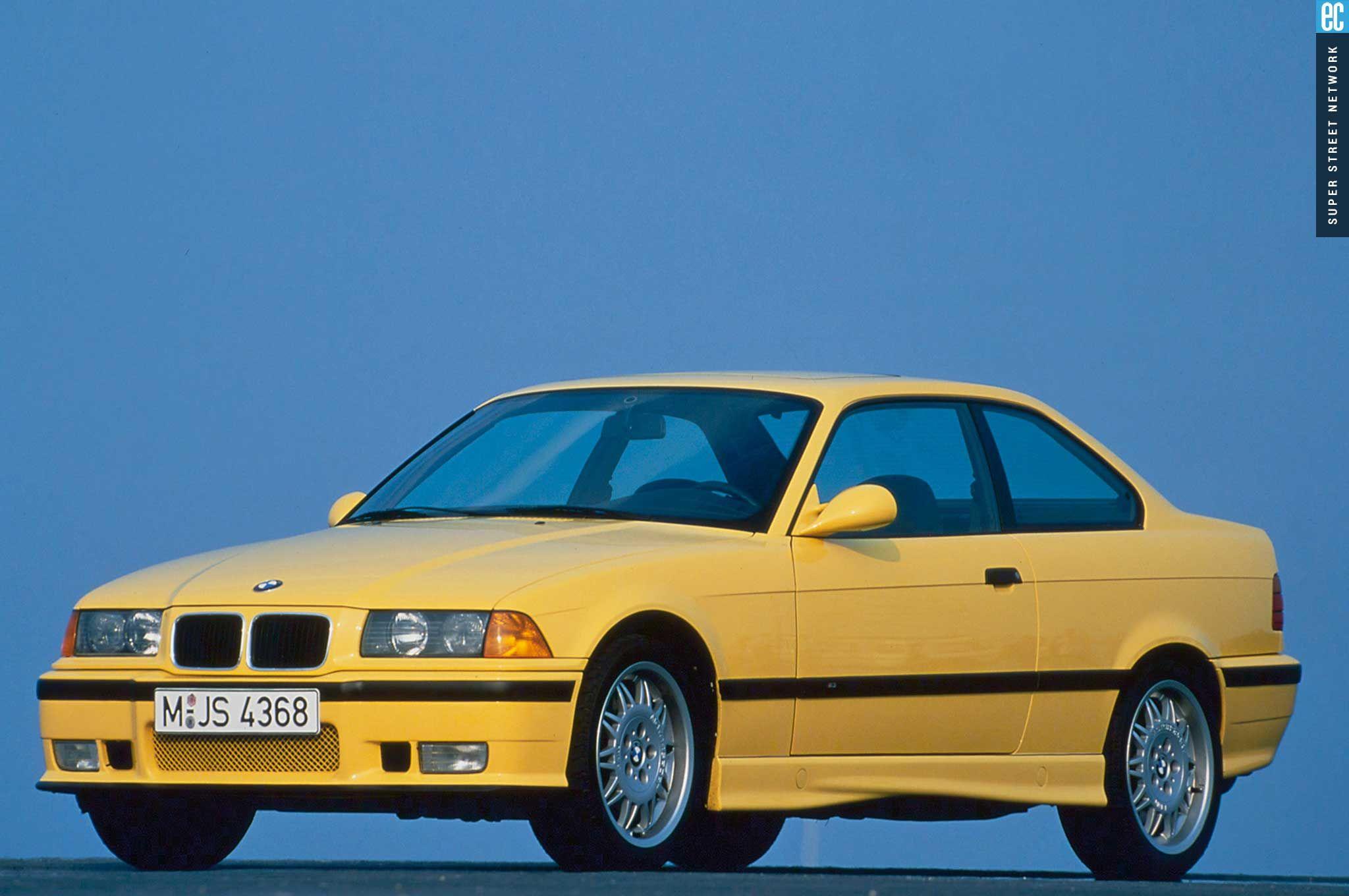 BMW M3 II (E36) 1992 - 1999 Sedan #8