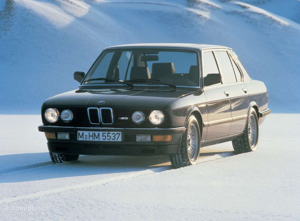 BMW M5 I (E28) 1985 - 1988 Sedan #4