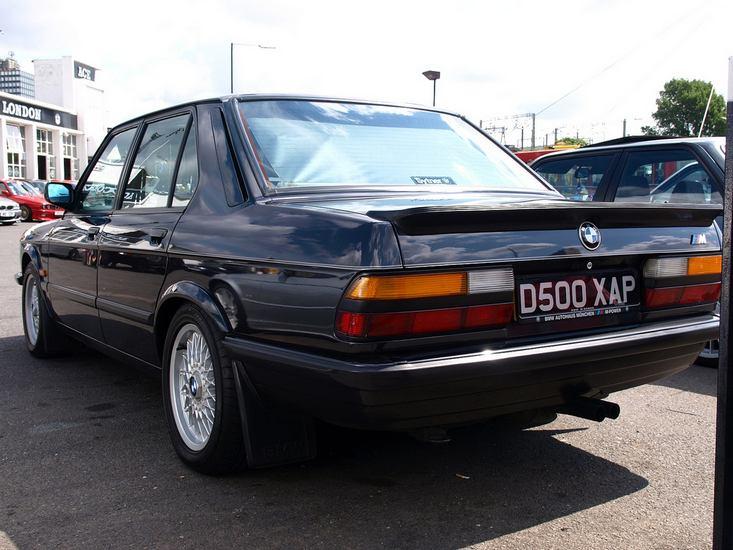 BMW M5 I (E28) 1985 - 1988 Sedan #3