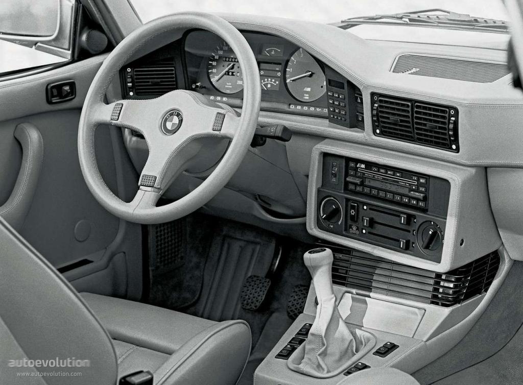 BMW M5 I (E28) 1985 - 1988 Sedan #5