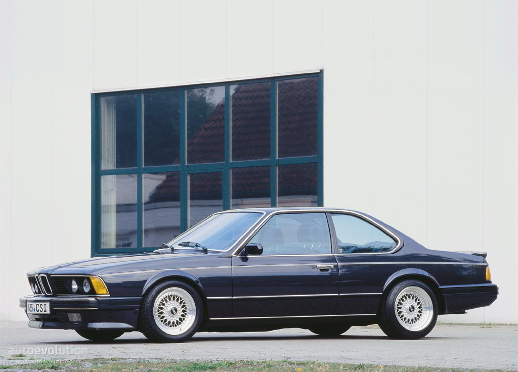 BMW M6 I (E24) 1983 - 1989 Coupe #2